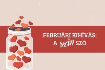 """Februári kihívás: a """"szív"""" szó"""